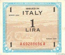 1 Lire ITALIE  1943 PM.10a SUP