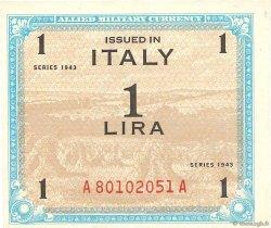 1 Lire ITALIE  1943 PM.10a pr.NEUF