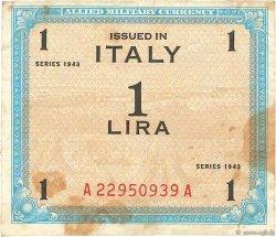 1 Lire ITALIE  1943 PM.10b TB+