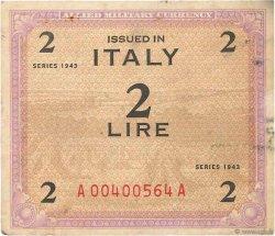 2 Lire ITALIE  1943 PM.11a TB+