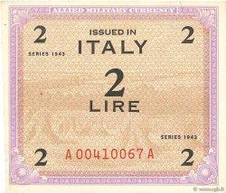 2 Lire ITALIE  1943 PM.11a SUP