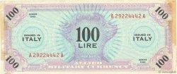 100 Lire ITALIE  1943 PM.15a pr.TTB