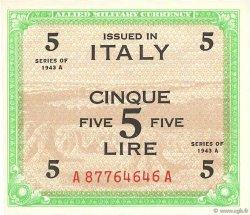 5 Lire ITALIE  1943 PM.18a pr.NEUF