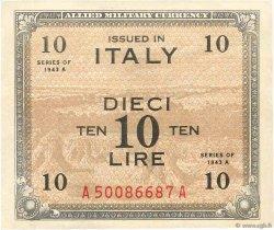 10 Lire ITALIE  1943 PM.19a SUP