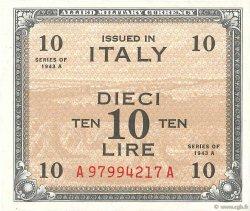 10 Lire ITALIE  1943 PM.19a pr.NEUF