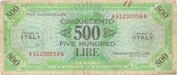 500 Lire ITALIE  1943 PM.22a B