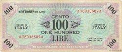 100 Lire ITALIE  1943 PM.21a TB