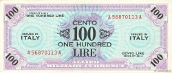 100 Lire ITALIE  1943 PM.21a TTB+