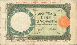 50 Lire ITALIE  1939 P.01b TB