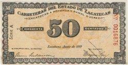 50 Centavos MEXIQUE  1922 P.- pr.SPL