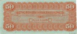 50 Pesos MEXIQUE  1889 P.- TTB+