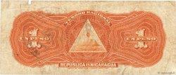 8 Centavos sur 1 Peso NICARAGUA  1912 P.051 TB