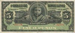 5 Pesos MEXIQUE  1902 PS.0429d TB