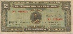 2 Pesos MEXIQUE  1916 PS.1136 TB