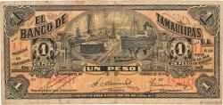 1 Peso MEXIQUE  1914 PS.0436 TB