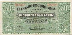50 Centavos MEXIQUE  1914 PS.0528c TTB