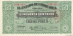 50 Centavos MEXIQUE  1914 PS.0528c SPL