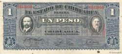 1 Peso MEXIQUE  1915 PS.0530e TTB+