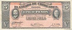 5 Pesos MEXIQUE  1914 PS.0531f TTB+