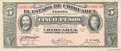5 Pesos MEXIQUE  1915 PS.0532A TTB
