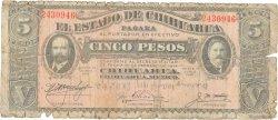 5 Pesos MEXIQUE  1915 PS.0532A AB