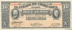 10 Pesos MEXIQUE  1914 PS.0533e TTB+