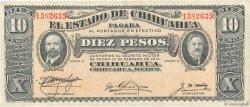 10 Pesos MEXIQUE  1914 PS.0533e TTB+