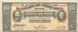 10 Pesos MEXIQUE  1914 PS.0533c TTB