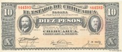 10 Pesos MEXIQUE  1914 PS.0533c SPL+