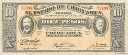 10 Pesos MEXIQUE  1915 PS.0534b TTB