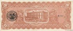 20 Pesos MEXIQUE  1914 PS.0536b TTB