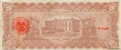 20 Pesos MEXIQUE  1914 PS.0536c pr.TTB