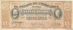20 Pesos MEXIQUE  1915 PS.0537a TB