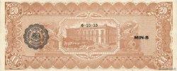 20 Pesos MEXIQUE  1915 PS.0537b SUP
