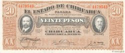 20 Pesos MEXIQUE  1915 PS.0537b SPL