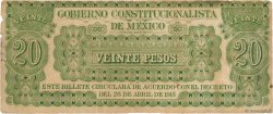 20 Pesos MEXIQUE  1913 PS.0632c TB