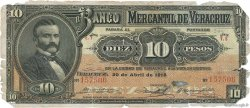 10 Pesos MEXIQUE  1914 PS.0439c AB