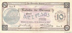 10 Pesos MEXIQUE  1915 PS.0957a TTB+