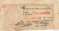 5 Pesos MEXIQUE Oaxaca de Juarez 1915 P.- TB