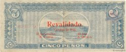 5 Pesos MEXIQUE  1915 PS.0746b TTB