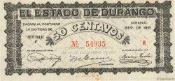 50 Centavos MEXIQUE  1915 PS.0749 TTB