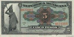 5 Pesos MEXIQUE  1915 PS.0685a TTB+