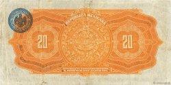 20 Pesos MEXIQUE  1915 PS.0687a TB+