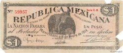 1 Peso MEXIQUE  1914 PS.0937 TB