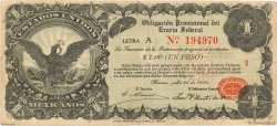 1 Peso MEXIQUE  1914 PS.0713 TB+