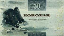 50 Kronur ÎLES FEROE  2001 P.24 TTB