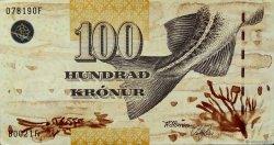 100 Kronur ÎLES FEROE  2002 P.25 TTB