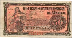 50 Centavos MEXIQUE  1915 PS.0882 TB