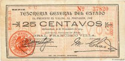 25 Centavos MEXIQUE  1913 PS.0551j TTB