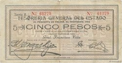 5 Pesos MEXIQUE  1913 PS.0554b pr.TB
